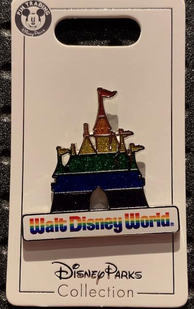 Walt Disney World Rainbow Castle Pin