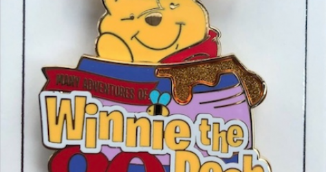 Winnie the Pooh Attraction 20th Pin