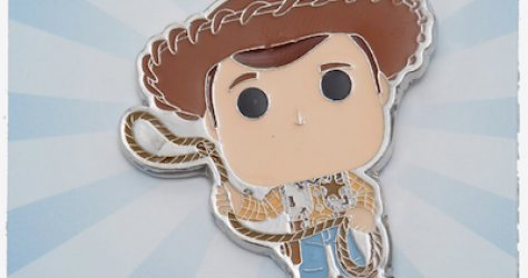 Woody Toy Story 4 Funko Pop Pin