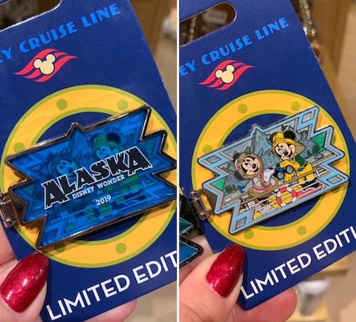 Alaska Disney World 2019 Hinged Pin