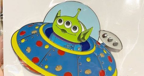 Alien Spaceship - HK Toy Store Pop Store