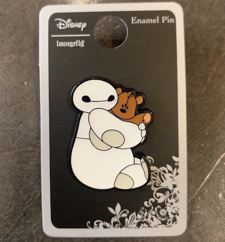 Baymax Cuddle Bear Hot Topic Disney Pin