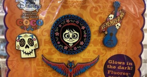 Coco Disney Store Pin Set