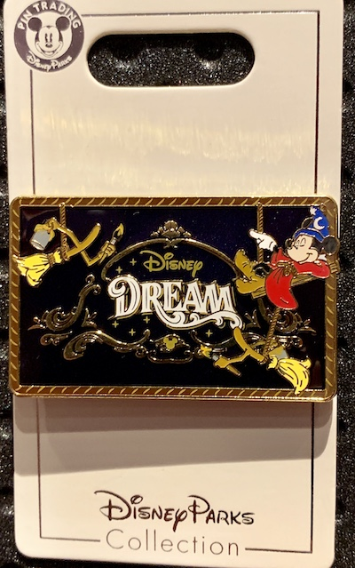 Disney Dream Cruise Ship Pin
