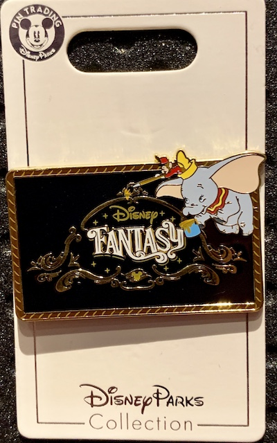 Disney Fantasy Cruise Ship Pin