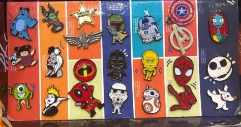 Disney Pins at Piticas