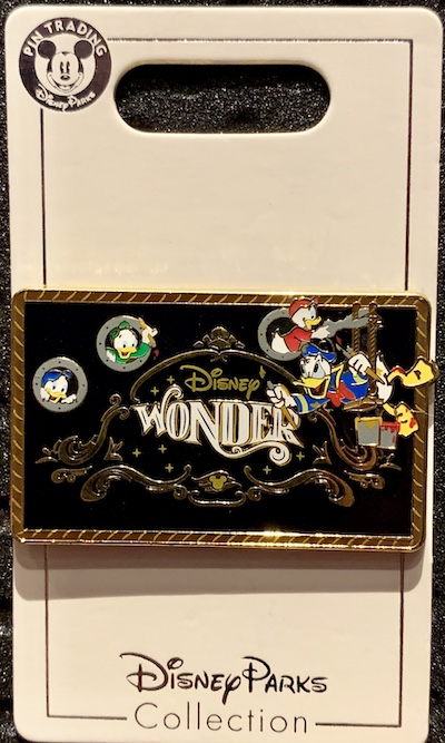 Disney Wonder Cruise Ship Pin