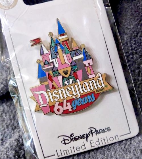 Disneyland 64 Years Cast Member Pin