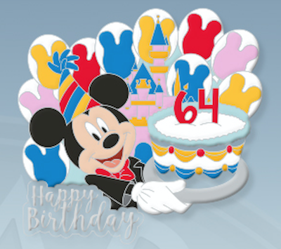 Disneyland 64th Birthday Pin