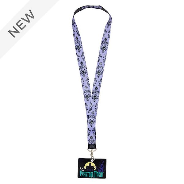 Disneyland Paris Phantom Manor Lanyard