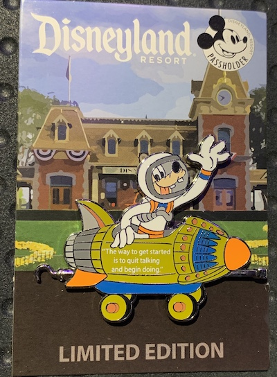 Disneyland Passholder Train Series 2019 Pin #4