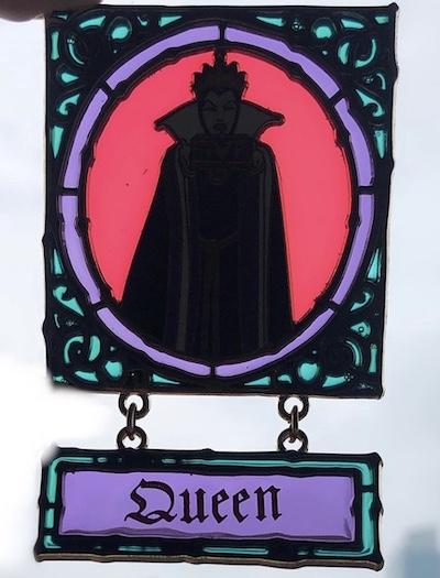 Evil Queen Dangle Disney Store Pin