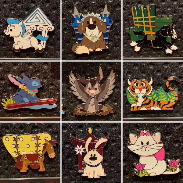 FairyTails It's a Pets World Disney Pins
