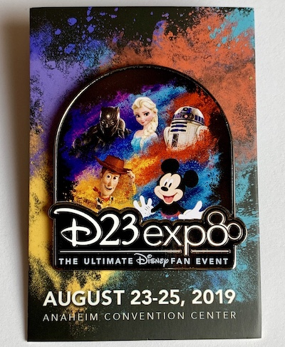 First D23 Expo 2019 Disney Pin