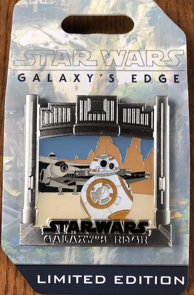Galaxy's Edge BB-8 WDW Countdown Pin