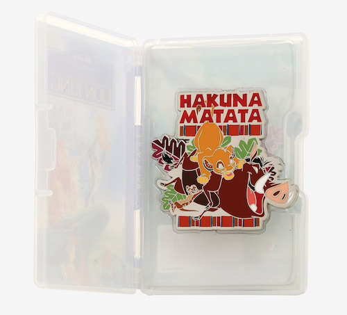 Hakuna Matata Hot Topic VHS Pin