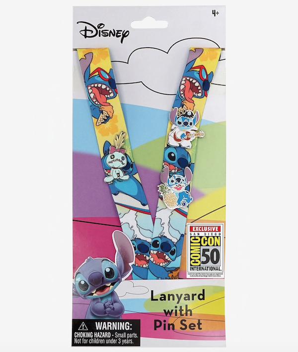 Disney Star Wars D23 Expo Exclusive Lanyard /& Pin Set 2019