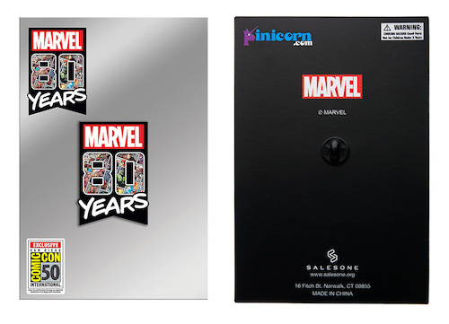 Marvel 80 Years SDCC 2019 Pin - Toynk