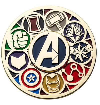 Marvel Avengers Deluxe Spinning Pin