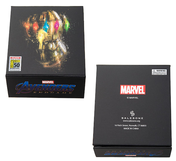 Marvel Avengers Deluxe Spinning SDCC 2019 Pin - Toynk