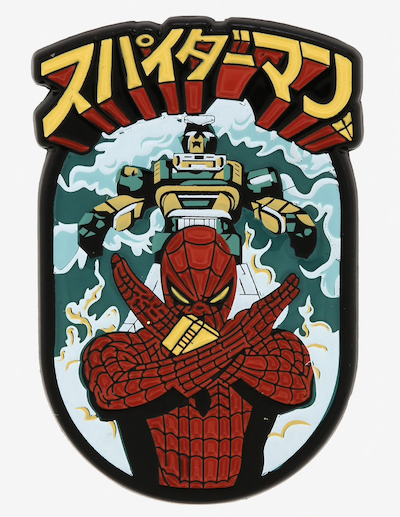 Marvel Spider-Man Leopardon Japanese  Pin