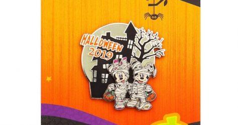 Mickey & Minnie Halloween 2019 shopDisney Pin