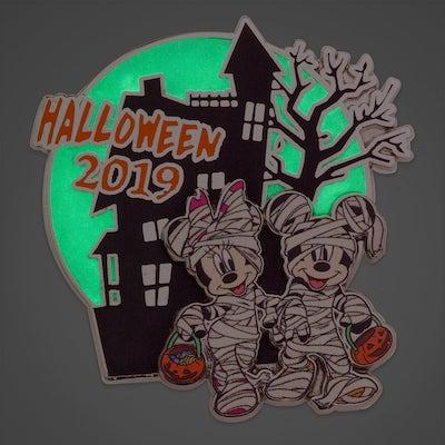 Mickey & Minnie Halloween 2019 shopDisney Pin - Glow in the Dark