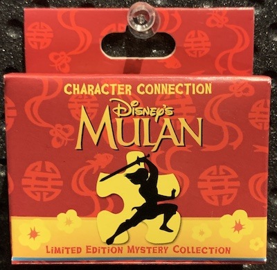 Mulan Character Connection Mystery Pin Set