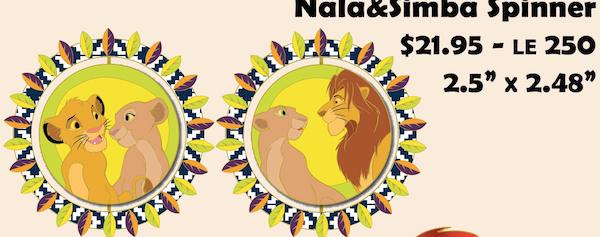 Nala & Simba Spinner - DEC Pin