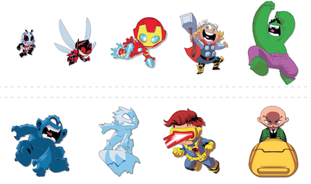 SDCC 2019 Marvel Pins