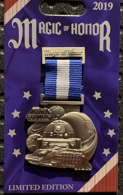 Star Tours Magic of Honor Pin