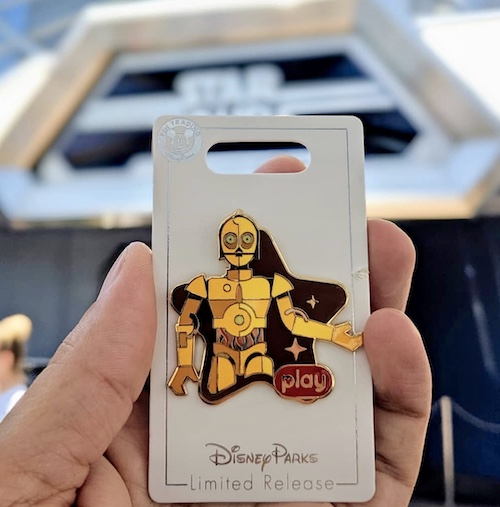 Star Tours Play Disney Parks Pin
