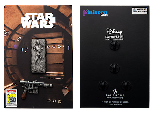 Star Wars Han Solo in Carbonite and Blaster 2 Pin Set