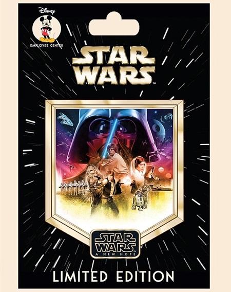 Star Wars The Saga Episode 4 Employee Center Pin