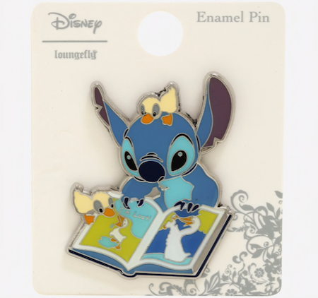 Stitch Book Ducklings BoxLunch Disney Pin