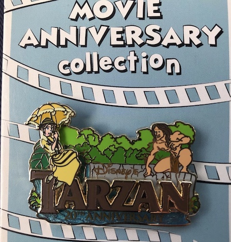 Tarzan 20th Anniversary Cast Member Pin
