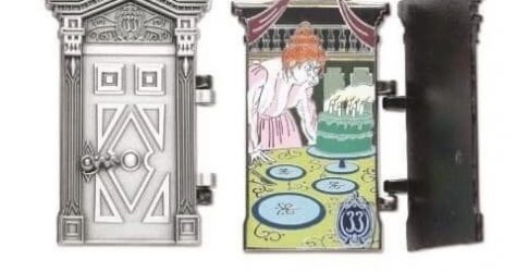 The Haunted Mansion 50th Anniversary Club 33 Disney Pin #2