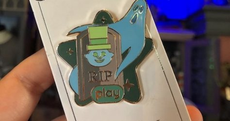 The Haunted Mansion Play Disney Parks Pin
