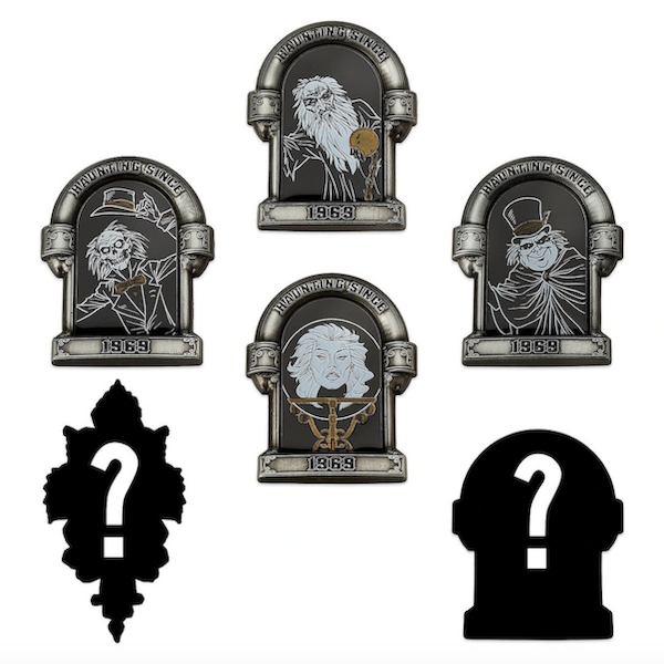 The Haunted Mansion shopDisney Mystery Pins