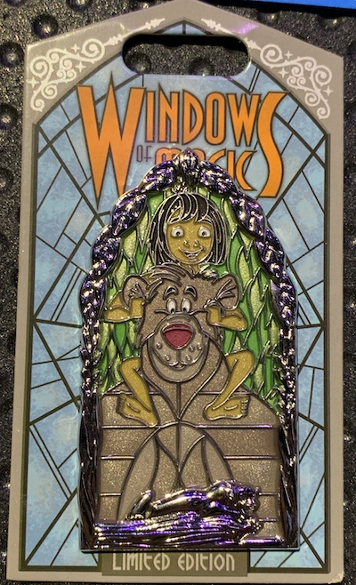 The Jungle Book Windows of Magic Pin