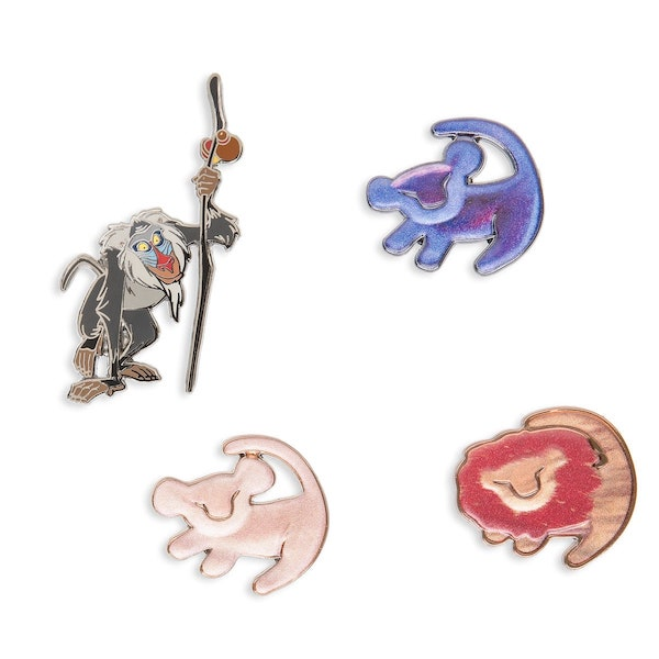 The Lion King 25th Anniversary shopDisney Pin Set