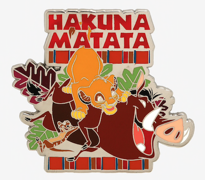 The Lion King Hakuna Matata Hot Topic Disney Pin
