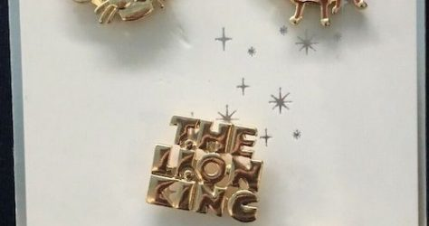 The Lion King Primark Disney Pin Set
