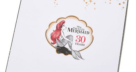 The Little Mermaid 30th Anniversary Disney Store Japan Pin Box