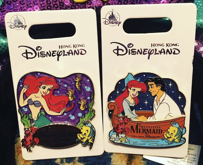 The Little Mermaid HKDL Pins