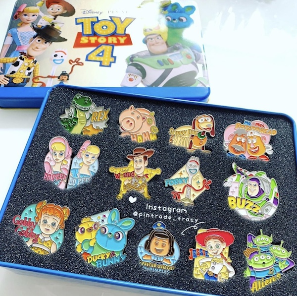 Toy Story 4 Pin Set - Korea Cinema