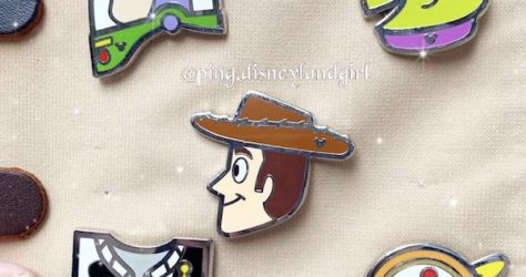 Toy Story HKDL Hidden Mickey Game Pins