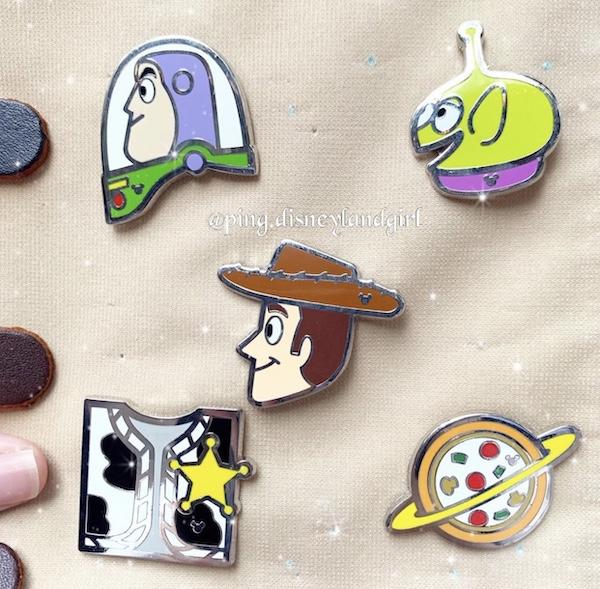 HKDL Hong Kong Disneyland Toy story pin LGM Bopeep woody Buzz Forky Gabby