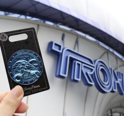 Tron Shanghai Disneyland Pin