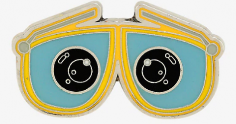 WALL-E Eyes BoxLunch Disney Pin